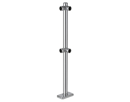 Chrome Barrier UPRIGHT CORNE